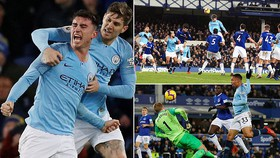 Everton - Man City 0-2: Laporte, Gabriel Jesus tỏa sáng và Pep Guardiola soán ngôi Liverpool