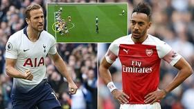 Tottenham - Arsenal 1-1: Ramsey mở tỷ số, Kane gỡ hòa, Aubameyang hỏng 11m, Lucas Torreira thẻ đỏ