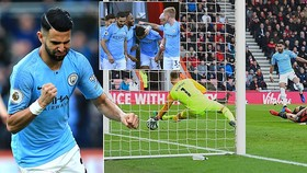 Bournemouth - Man City 0-1: Mahrez kịp tỏa sáng, HLV Pep Guardiola tạm dẫn đầu BXH
