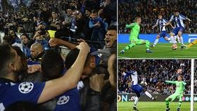 Porto - Roma 3-1 (chung cuộc 4-3): Soares, Moussa Marega, Alex Telles tỏa sáng giành vé vào tứ kết
