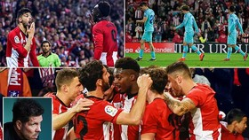 Athletic Bilbao - Atletico Madrid 2-0: Griezmann, Morata, Costa tịt ngòi, Williams, Kodro lập công