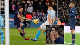 PSG - Marseille 3-1: Mbappe khai màn, Di Maria lập cú đúp, PSG độc chiếm ngôi đầu