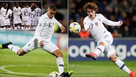 Moldova - Pháp 1-4: Griezmann, Varane, Giroud, Mbappe thăng hoa, HLV Deschamps giành gọn 3 điểm