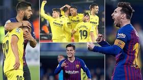 Villarreal - Barcelona 4-4: Coutinho, Malcom, khai màn, Messi, Suarez kịp cứu thua