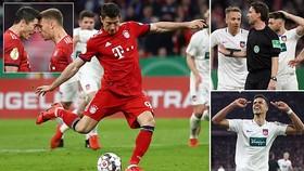 Bayern Munich - Heidenheim 5-4: Goretzka, Mueller, Gnabry, Lewandowski xuất thần giành vé bán kết