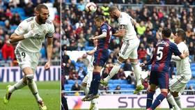 Real Madrid - Eibar 2-1: Benzema tỏa sang, HLV Zidane kịp ngược dòng giành 3 điểm