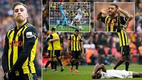 Watford - Wolverhampton 3-2: Deulofeu xuất thần, Troy Deeney tỏa sáng giành vé chung kết FA Cup
