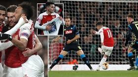 Arsenal - Napoli 2-0: Ramsey khai màn, Koulibaly phản lưới nhà