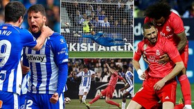 Leganes - Real Madrid 1-1: Jonathan Silva hạ Navas, Benzema gỡ hòa, Real tạm giữ vị trí thứ 3
