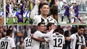 Juventus - Fiorentina 2-1: Alex Sandro tỏa sáng, Ronaldo sớm đăng quang Scudetto