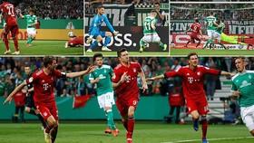 Bremen - Bayern Munich 2-3: Lewandowski, Muller tỏa sáng giành vé chung kết cúp quốc gia Đức