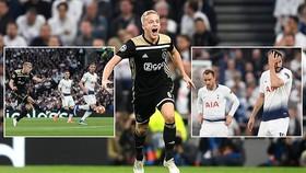 Tottenham - Ajax 0-1: Van de Beek hạ thủ thành Lloris, Ajax giành lợi thế lượt về