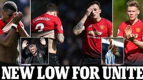 Huddersfield - Man United 1-1: McTominay mở tỷ số nhưng HLV Solskjaer bị cầm chân, rời xa tốp 4