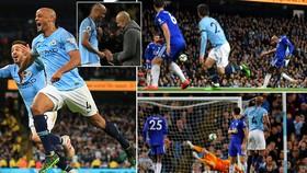 Man City - Leicester 1-0: Kompany vẽ siêu phẩm, Pep Guardiola vượt mặt Klopp giành ngôi đầu
