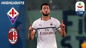Fiorentina - Milan 0-1: Calhanoglu là người hùng Milan