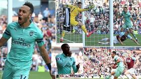 Burnley - Arsenal 1-3: Aubameyang, Edward Nketiah lập công, HLV Emery xếp thứ 5 BXH