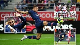 Reims - PSG 3-1: Baba, Mendy, Chavarria thăng hoa, Mbappe chỉ rút ngắn tỷ số, PSG bại trận