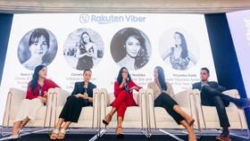 Sự kiện quy tụ các giám đốc điều hành của Viber, các nhà lãnh đạo trong ngành, nhà sáng tạo nổi tiếng