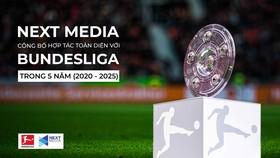 Next Media công bố hợp tác toàn diện với Bundesliga trong 5 năm (2020-2025)