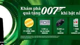 Phiên bản Heineken James Bond với hơn 1 triệu phần quà hấp dẫn