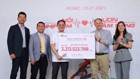 Chương trình Chạy vì trái tim 2020 quyên góp được hơn 3,2 tỷ đồng