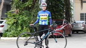 Điểu Thị Duyên (đội xe đạp nữ Biwase Bình Dương). Ảnh: GIA MẪN