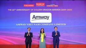 Amway Việt Nam là doanh nghiệp có vốn đầu tư nước ngoài kinh doanh thành công ở Việt Nam 10 năm liền