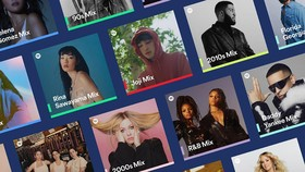 Danh sách phát của Spotify Mixes mới được cá nhân hóa