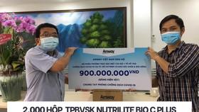 Amway Việt Nam ủng hộ sản phẩm chăm sóc sức khỏe và thiết yếu đến tuyến đầu chống dịch ở phía Nam