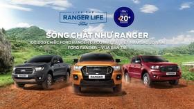 Ford Ranger Việt Nam chính thức xuất xưởng, đánh dấu cột mốc 20 năm ở tại thị trường Việt Nam