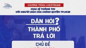 Đối thoại trực tiếp về việc hỗ trợ người dân quận Bình Thạnh và quận 7