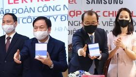 Hợp tác chiến lược giữa Samsung và Viettel phù hợp định hướng của Chính phủ Việt Nam về phát triển kinh tế số và chuyển đổi số quốc gia