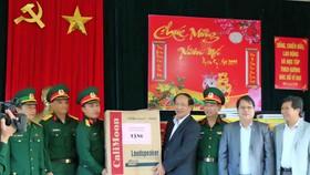 Lãnh đạo tỉnh Quảng Nam thăm chúc tết xã đảo Cù Lao Chàm