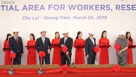 Thủ tướng Nguyễn Xuân Phúc tham dự lễ khởi công nhiều dự án ở Quảng Nam