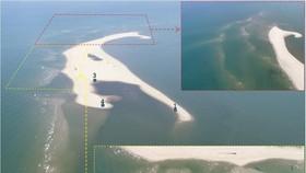 Cồn cát Cửa Đại bồi thêm 50 mét