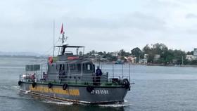 Một ngư dân mất tích trên biển Cửa Đại