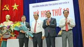 Ông Lê Trí Thanh giữ chức Chủ tịch UBND tỉnh Quảng Nam