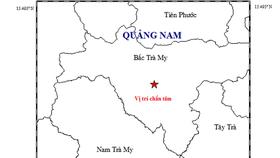 Động đất tại Bắc Trà My