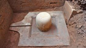 Phát hiện Linga-Yoni liền khối lớn nhất Việt Nam tại Khu đền tháp Mỹ Sơn
