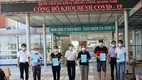 Quảng Nam công bố khỏi bệnh cho 11 trường hợp mắc Covid-19