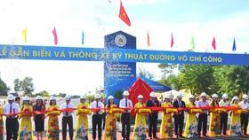 Quảng Nam gắn biển và thông xe kỹ thuật đường Võ Chí Công