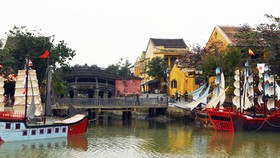 Tái hiện thương cảng Hội An xưa trên sông Hoài