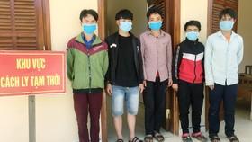 Quảng Nam bắt giữ 5 người vượt biên trái phép