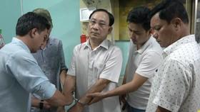 Nguyễn Văn Ngưu khi bị bắt. Ảnh: Cơ quan điều tra cung cấp
