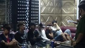 Phát hiện 9 người dương tính với ma tuý tại quán karaoke