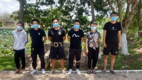 Tạm giữ 6 đối tượng người Trung Quốc vượt biên trái phép sang Campuchia