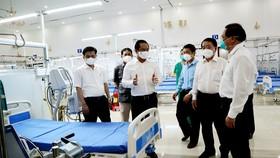 Long An khánh thành Trung tâm hồi sức tích cực bệnh nhân Covid-19