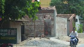 Nhiều trường hợp xây dựng trái  phép ở xã Sơn Trạch