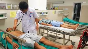 Hàng loạt tài xế liên tiếp nhập viện.