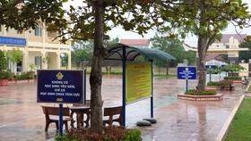 Các câu khẩu hiệu trong khuôn viên trường THCS Duy Ninh